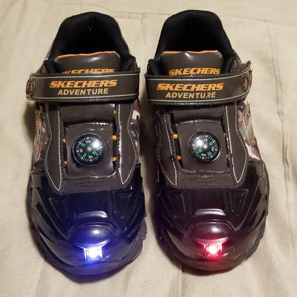 Boys Size Skechers Adventure Shoes
